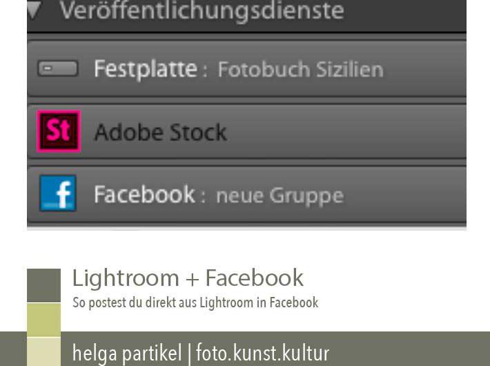 lightroom veröffentlichungsdienst foto kunst kultur, facebook