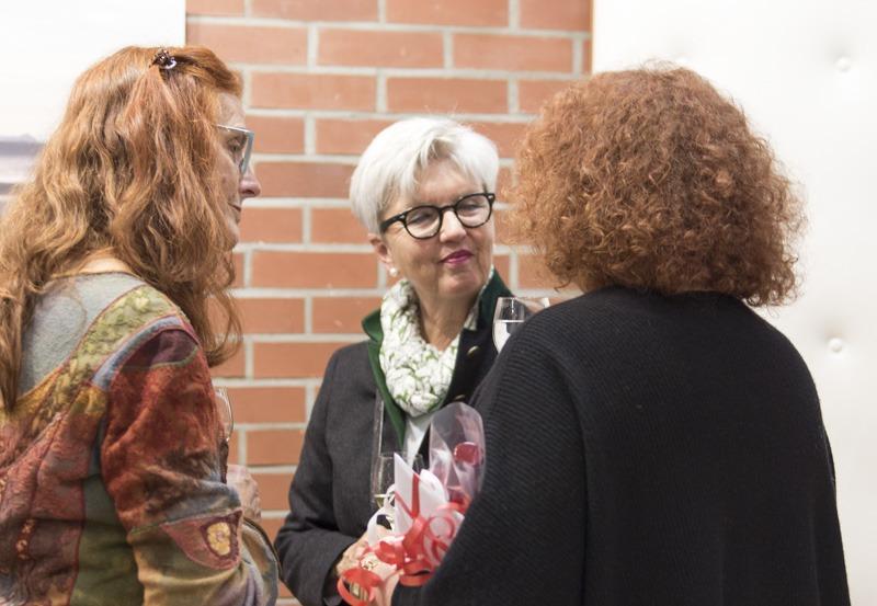 Vernissage foto.kunst.kultur- 17.4.17 © Christa Schiffner