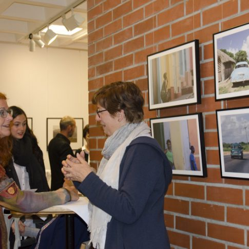 Vernissage foto.kunst.kultur- 17.4.17 © Conny Seitz