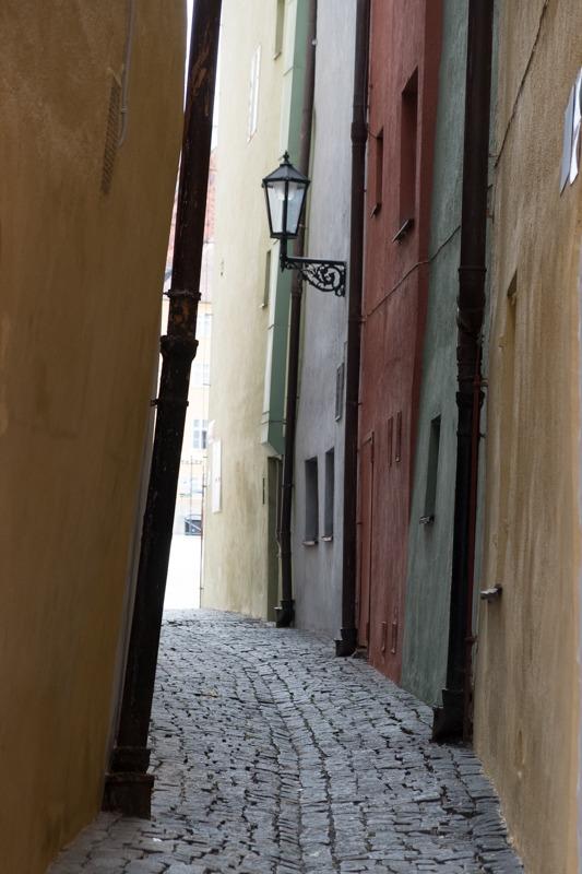 Ein Bild von einer Gasse, Eger, Cheb, foto.kunst.kultur, Helga Partikel