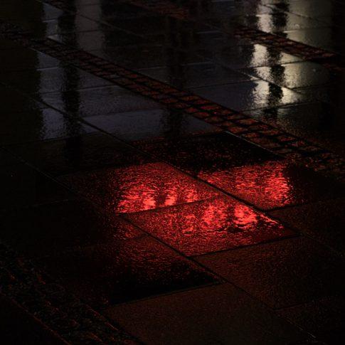 Bildbearbeitung: Etwas Abkühlung gefällig? Ein Regenfoto. Foto.kunst.kultur